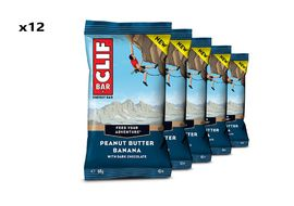Clif Bar Box of 12 Energy Bar Peanut Butter Banana