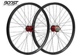 """Hope Fortus 30 Red 27.5"""" Boost Wheelset 2020"""