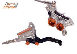 Hope Tech 3 E4 Front Disc Brake Pur'Edition Silver / Orange 2019