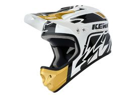 Kenny Down Hill Helmet White and Gold 2020