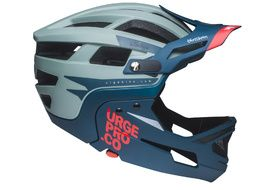 Urge Gringo de la Sierra Helmet Grey and Blue 2020