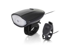 Hornit Lite Bike Horn and 250 Lumens front USB light
