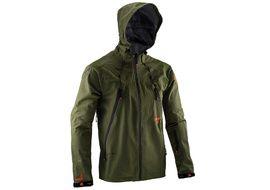 Leatt DBX 5.0 All Mountain Jacket Green Forest 2020
