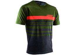 Leatt DBX 1.0 Jersey Short Sleeves Green Forest 2020