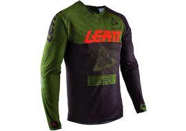 Leatt DBX 4.0 Jerseys Long Sleeves Green Forest 2020