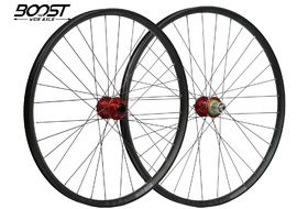 """Hope Fortus 26 Red 27.5"""" Boost Wheelset 2020"""