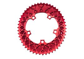 Absolute Black Premium Road Oval 110/5 Chainring for Sram - Red 2020
