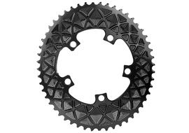 Absolute Black Premium Road Oval 110/5 Chainring (No Sram) - Black 2020