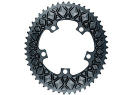 Absolute Black Premium Road Oval 110/5 Chainring (No Sram) - Grey 2020