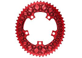Absolute Black Premium Road Oval 110/5 Chainring (No Sram) - Red 2020