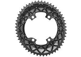 Absolute Black Premium Road Oval 110/4 Chainring M9100/8000 (Shimano asymetrical) - Black 2020