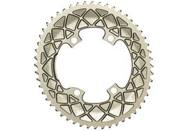 Absolute Black Premium Road Oval 110/4 Chainring M9100/8000  - Champagne 2020