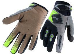 Kenny Track Gloves Grey Lime 2020