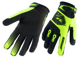 Kenny Track Gloves Neon Yellow Black 2020
