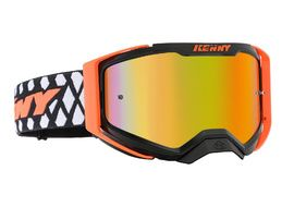 Kenny Performance Goggle Level 2 Black Neon Orange 2020