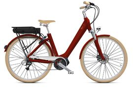 O2feel Swan D8 X- Bike Red - E5000 400Wh 2020