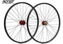 """Hope Fortus 23 Red 29"""" Boost Wheelset 2020"""