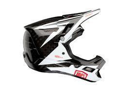 100% Aircraft Carbon Helmet Rapidbomb White 2020