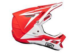 100% Aircraft Composite Helmet Rapidbomb Red
