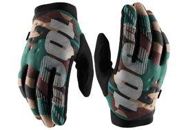 100% Brisker Gloves Camo / Black 2020