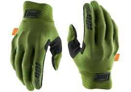 100% Cognito D3O Gloves Army Green 2020