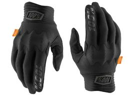 100% Cognito D3O Gloves Black/Charcoal 2020