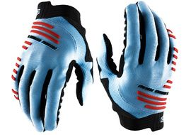 100% R-Core Gloves Blue / Red 2020
