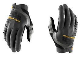 100% R-Core Gloves Charcoal 2020