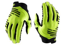 100% R-Core Gloves Fluo Yellow 2020