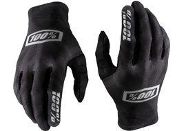 100% Celium Gloves Black/Silver 2020