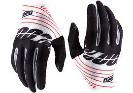 100% Celium Gloves Black/White 2020