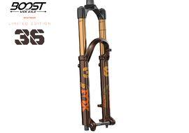 """Fox Racing Shox 36 Float 27.5"""" Factory Grip 2 Root Beer 160 mm Boost 2021"""