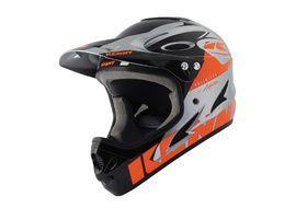 Kenny Down hill Helmet Graphic Neon Orange Silver – Size XXS 2021