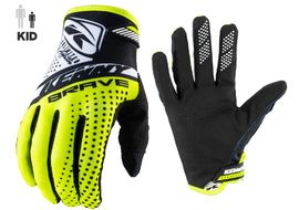 Kenny Brave Gloves Youth Neon Yellow 2021