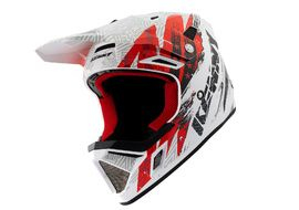 Kenny Decade Helmet Graphic Trash White Red 2021