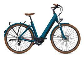 O2feel ISwan City Boost 6.1 Bike Cobalt Blue - E6100 2021
