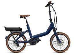 O2feel Swan Fold N7 Bike Blue - E5000 Powerpack 600 2020