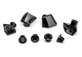 Absolute Black Bolt Covers for Dura-Ace 9000 2020