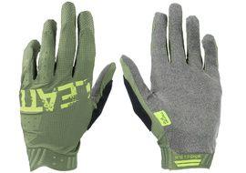 Leatt MTB 1.0 GripR Cactus Green Gloves 2021