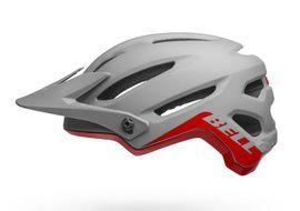 Bell 4Forty Helmet Grey / Crimson 2021