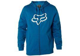 Fox Legacy Moth Zip Hoodie Blue