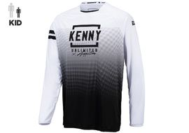 Kenny Elite Kid Jersey White Black 2021