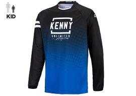 Kenny Elite Kid Jersey Blue Black 2021