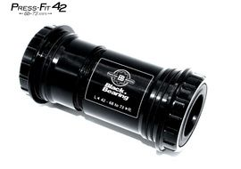 Black Bearing B5 PF42 68/73 Bottom Bracket for 24 mm and GXP (22/24 mm) spindle
