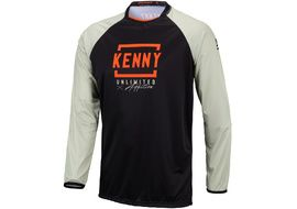 Kenny Defiant Jersey Black Orange 2021
