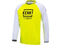 Kenny Defiant Jersey White Neon Yellow 2021