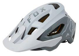 Fox Speedframe Pro Helmet White and Grey 2021