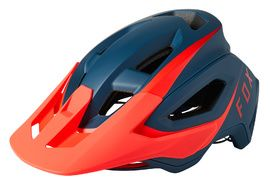 Fox Speedframe Pro Helmet Red and Blue 2021