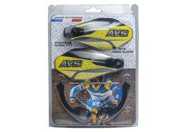 AVS Hand Guard with aluminium support - Black / Yellow