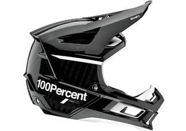 100% Aircraft 2 Helmet Black and White 2021